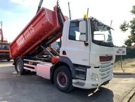 samochód do przewozu kontenerów DAF CF 460 - EURO 6 - MANUAL ZF + RETARDER - 4x2 - HAAKSYSTEEM / AMPLIROL / ... 2014
