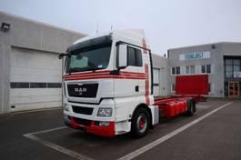camion portacontainer MAN TGX 18.400 2012
