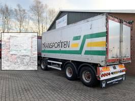 tipper trailer Floor 32m3 Aluminium kip aanhanger Liftas Luchtgeveerd 2004