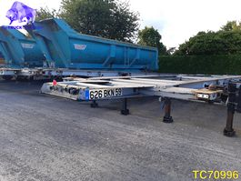container chassis semi trailer General Trailers Container Transport 2004