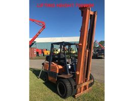 forklift Toyota 02-5FG30 ENGINE DEFECT!!! 1993