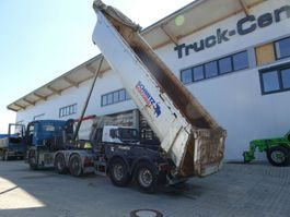 tipper semi trailer Schmitz Cargobull SKI 18 - 7.2 24 cbm Liftachse