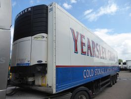 refrigerated semi trailer Schmitz Cargobull SKO 24, 260 Hoch,  Alu Boden Carrier Vector 1850, 2009