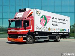 refrigerated truck Scania P 230 EURO 3 ISOLATED BOX CARRIER SUPRA 850 2005