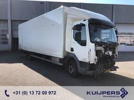 closed box truck > 7.5 t DAF LF 180 FA // 12T // Driveable // Box & Curtainside // NL Truck 2016