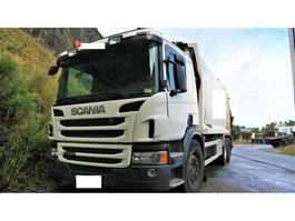 garbage truck Scania P400 2013