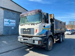 LKW Kipper > 7.5 t MAN F2000 33.414 6x4 Big Axel Manualgear