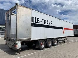 walking floor semi trailer Knapen Trailers K200 - 89m3 2013