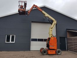 articulated boom lift wheeled JLG E 300 AJP 2011