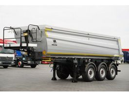 tipper semi trailer Wielton Wielton 26 m³ staal / Leasing 2018