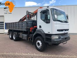 tipper truck > 7.5 t Renault Kerax 370 6X4 STEELSPRINGS 2003