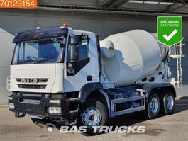 concrete mixer truck Iveco Trakker AD260T33 6X4 RHD Manual Big-Axle Steelsuspension Euro 5 2008