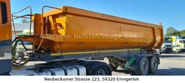 tipper semi trailer Carnehl CSKH/S, Stahlmulde, Scheibenbremse