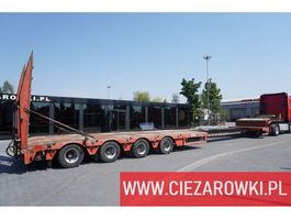 lowloader semi trailer Faymonville STN-4AU , 4 axles , extended , stretched , max 15,80 x 3,23m , h 2011