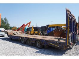 lowloader semi trailer King GTS60 , 3 axle , 9,30 x 3,35m , stretched , air suspension , 3 X 2016