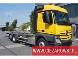 chassis cab truck Mercedes Benz Actros 2542 , E6 , 6x2 , BDF , retarder , chassis 7,2m , wheelba 2017