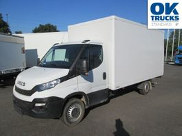 closed box truck > 7.5 t Iveco Daily 35S16 Koffer/LBW KLIMA 2017