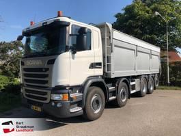 автосамосвал > 7.5 t Scania G450 10x4 asfaltkipper euro 6 2016