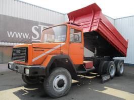 tipper truck > 7.5 t Iveco Magirus Deutz , V8 , 3 way tipper, spring suspension , ZF Manual , 6x6 1980