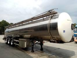 tank semi trailer semi trailer Magyar ADR 3 ESSIEUX 1 COMPARTIMENT 32550L 2 BAR 1996