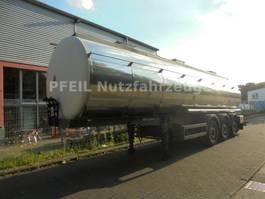 Tankauflieger Auflieger Berger Santi Lebensmitteltank- 3 Kammern. 31.000 Liter 2012