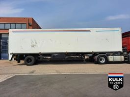 closed box semi trailer Floor FLO 12 102 / OLD SCHOOL FLOOR CITY / ISO / LAADKLEP / NEW APK 1994