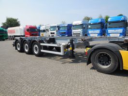 container chassis semi trailer LAG Lag O-3-CC ADR LIFTAS 2013