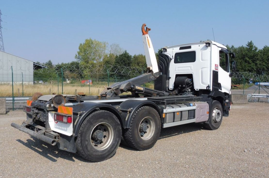 container truck Renault C 430 L 6x4 - EURO 6 - WIELBASIS 3,70 M - 247.926 Km - TOP TOESTAND