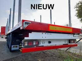 Plattform Auflieger A&D Nieuwe A&D plateau-oplegger met gecertificeerde palen 2020