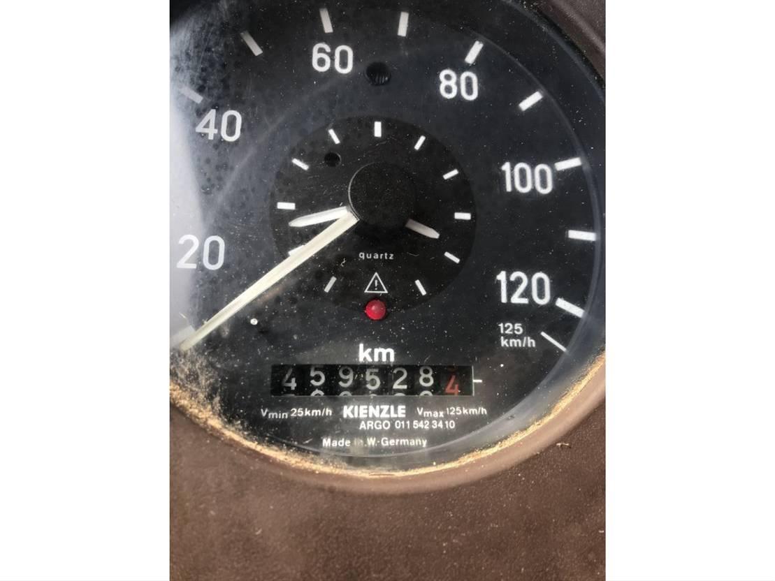 closed box truck > 7.5 t Mercedes Benz 814 **6CYL*FULL STEEL** 1985