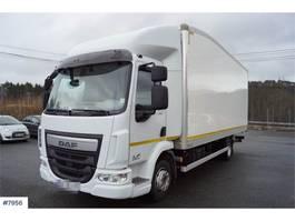 closed box truck > 7.5 t DAF LF 210 2017