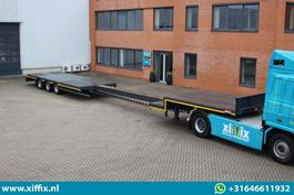 semi lowloader semi trailer Lintrailers 3-ass. Uitschuifbare semi dieplader