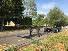 Container-Fahrgestell Auflieger Netam 40 ft container chassis STEEL SPRING 1974