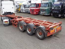 Container-Fahrgestell Auflieger Kromhout 3APCC 12 + 3 AXLE 20+3040+45 1995