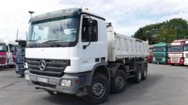 tipper truck > 7.5 t Mercedes Benz 3244 Actros 8x4  3 seiten meiller kipper 2006