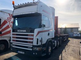 cab over engine Scania 144 - 460 6x2 pusher 2000
