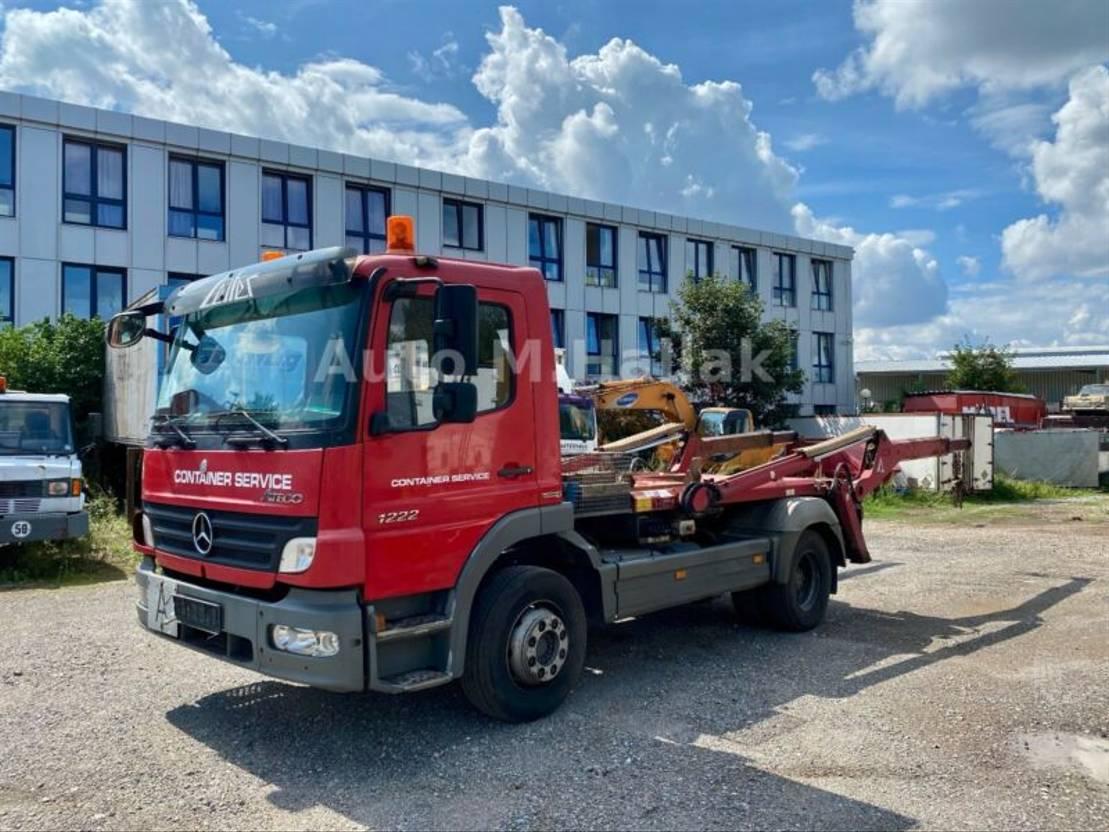 Container-LKW Mercedes-Benz Atego 1222 K Tele Absetzkipper Euro 4