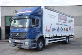 closed box truck Mercedes-Benz AXOR 1926 TAUTLINER WITH LIFT 2009