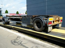 container chassis trailer GS Meppel AC-2000N 2002
