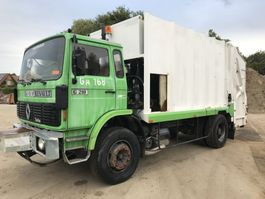 garbage truck Renault G210 **FULL STEEL-LAMES-FRENCH TRUCK** 1990