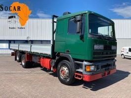 platform truck DAF 95.350 Ten Tires / Full Steel 1990