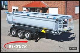 tipper semi trailer Schwarzmüller NEU, 25cbm Halfpipe Stahl-Segmentmulde 2020