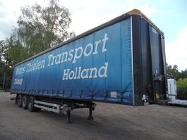 sliding curtain semi trailer Van Hool oplegger 3-asser Van Hool 2000