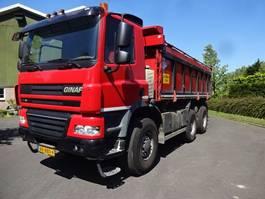 tipper truck > 7.5 t Ginaf X 3335 S 6X6 2012