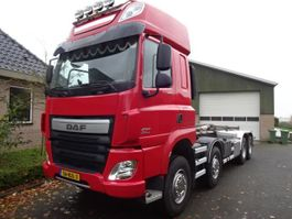 container truck DAF CF 460 FAD 8X4 BB 2017