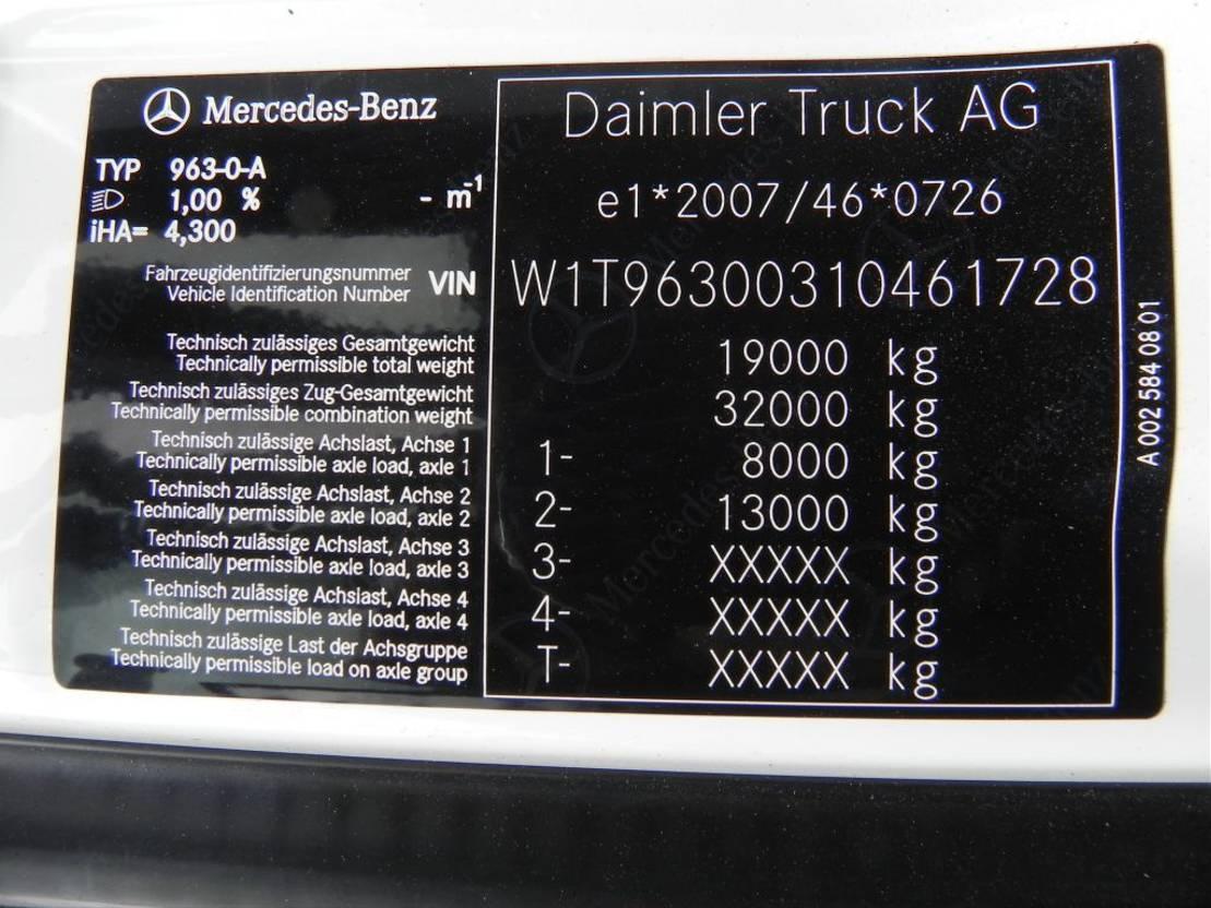 container truck Mercedes-Benz Nieuwe Actros 1932L containersysteem uit stock leverbaar 2020