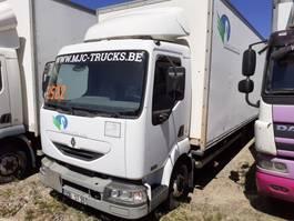 closed box truck > 7.5 t Renault 180 DCI - CLOSED BOX - MANUAL - + LIFT 2002
