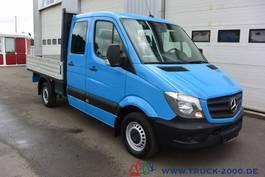 drop side lcv Mercedes-Benz Sprinter 313 CDI DoKa 7-Sitze AHK zGG 3.2 Tonnen 2015