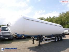 Tankauflieger Auflieger Robin e Gas tank steel 50.5 m3 1998