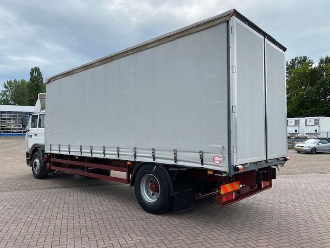 closed box truck > 7.5 t Renault G 230 Manager 1996